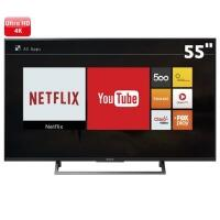 Smart TV LED 55 Ultra HD 4K Sony KD-55X705E BR6 3 HDMI 3 USB Wi-Fi 60Hz