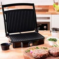 Grill Premium Fun Kitchen - Preto/Prata