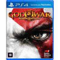 Jogo God of War III Remasterizado - PS4