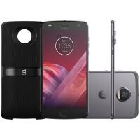 [Cartã Shoptime] Smartphone Motorola Moto Z2 Play New Sound Edition 64GB Dual Chip Tela 5,5