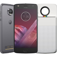 [Cartão Shoptime] Smartphone Motorola Moto Z2 Play Polaroid Edition 64GB Dual Chip Tela 5,5